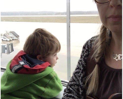 Flughafen Dresden/Tagaustagein