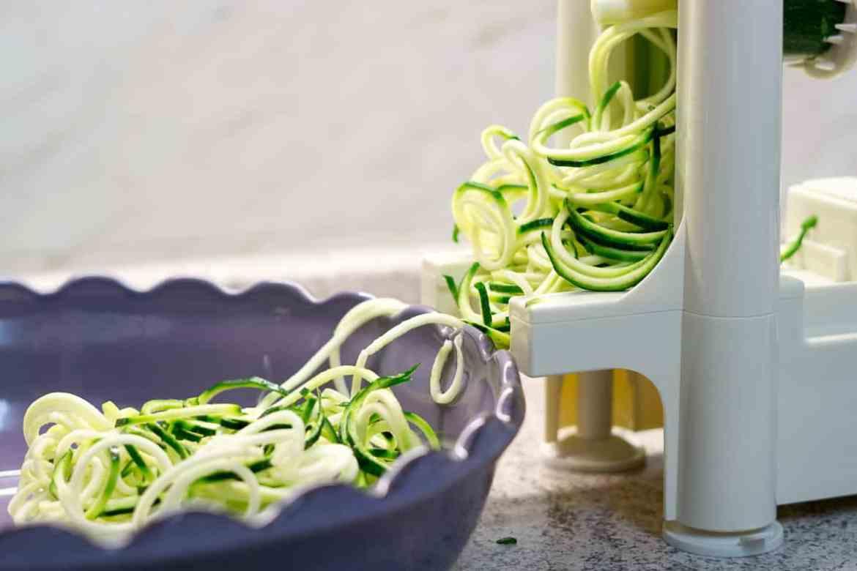 Zucchini-Nudeln Speiseplan