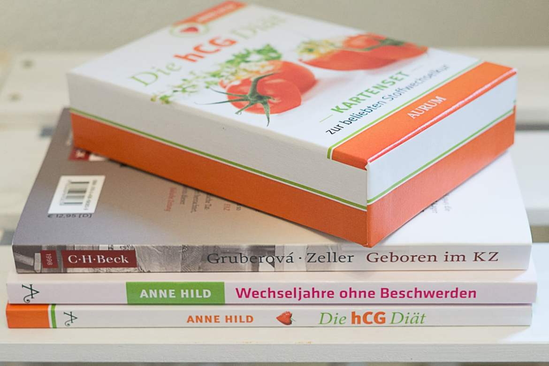 Lesestoff - Bücher - Wechseljahre - hCG Diät - Anne Hill