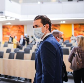 Austria's Chancellor Sebastian Kurz.