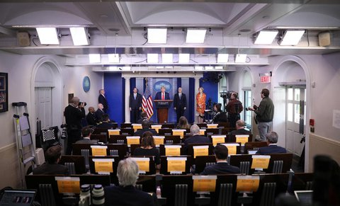 Stay away from Trump's press conference