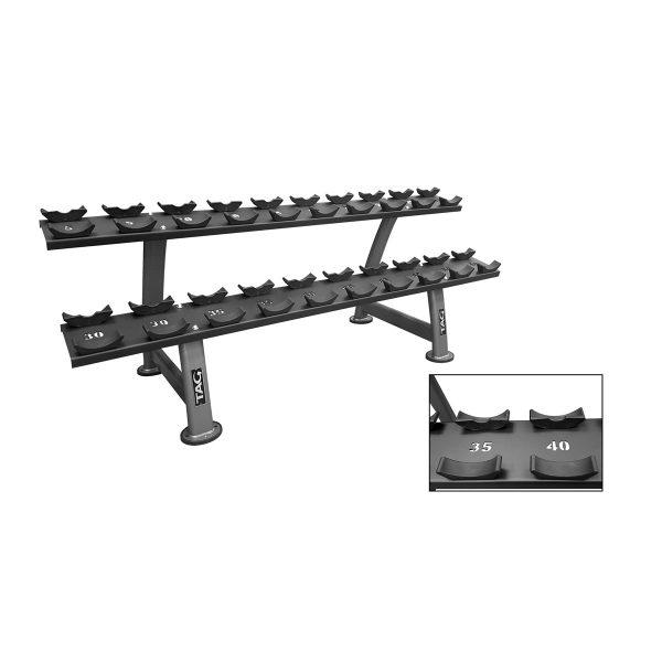tag 2 tier saddle rack