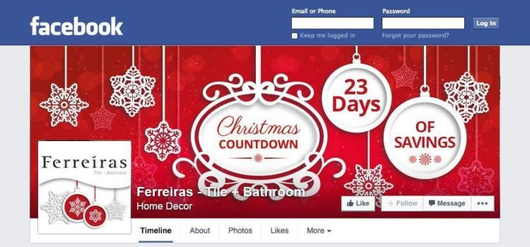 Christmas Social Profile updates