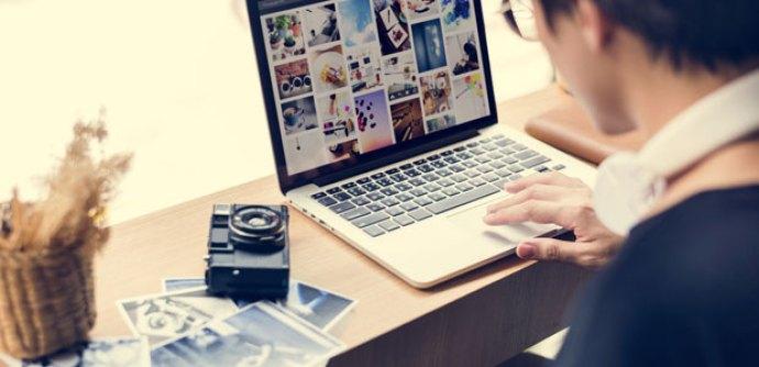 search vendor on social media