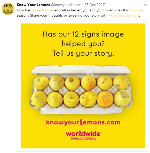 Know your lemons Social Media Marketing Campaigns