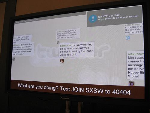 Twitter at SXSW