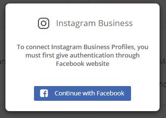 Select Instagram Account