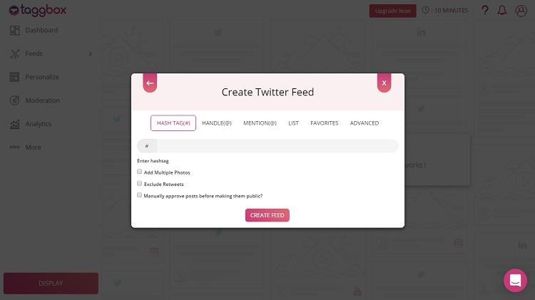 Twitter Feeds on WordPress