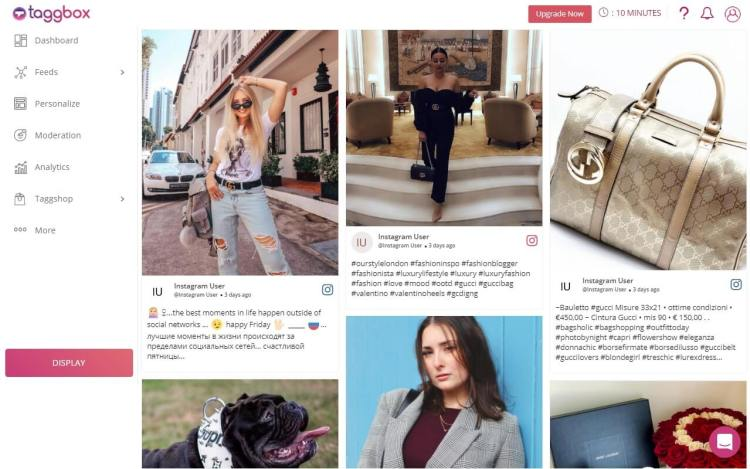Instagram Shoppable