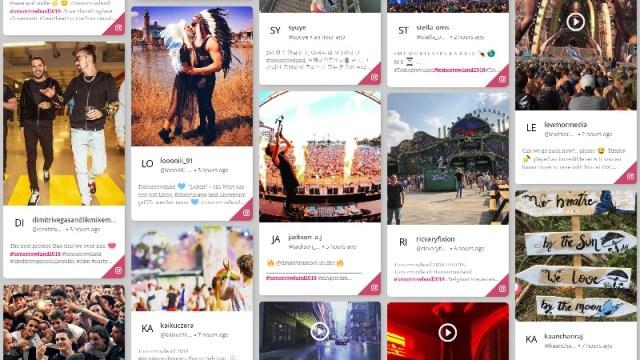 feed post hashtags highlight