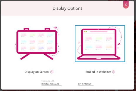 How to Embed Workplace Feed on WIX Website Display Options