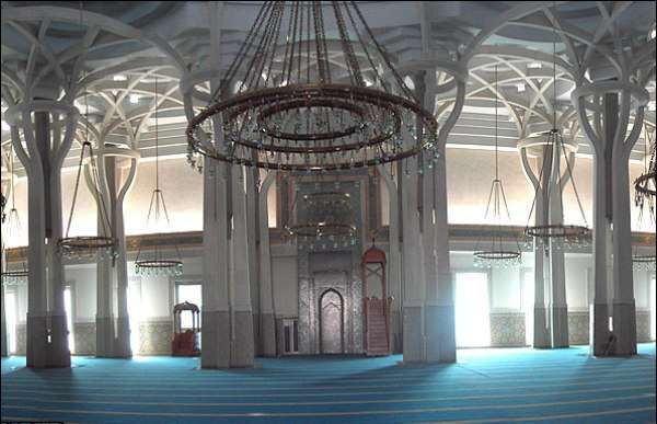 The Grand Mosque of Rome, the largest mosque in Europe