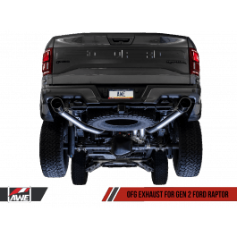 awe fg exhaust suite for the gen 2 ford raptor