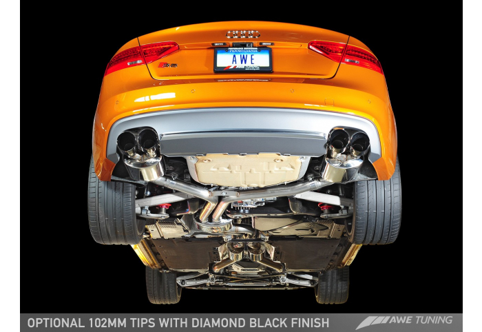 awe tuning audi b8 5 s5 touring edition exhaust system