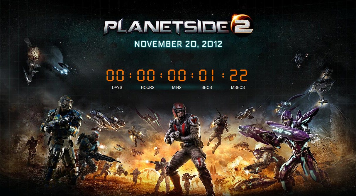 PlanetSide 2 Goes Live The Ancient Gaming Noob
