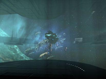 Megathron Fleet Undocking