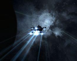 Tengu near a planet