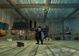 Nomu's floating object inn room