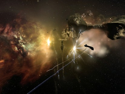 Asteroid mining station NPCs
