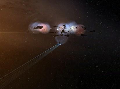 Landing on the titan blob