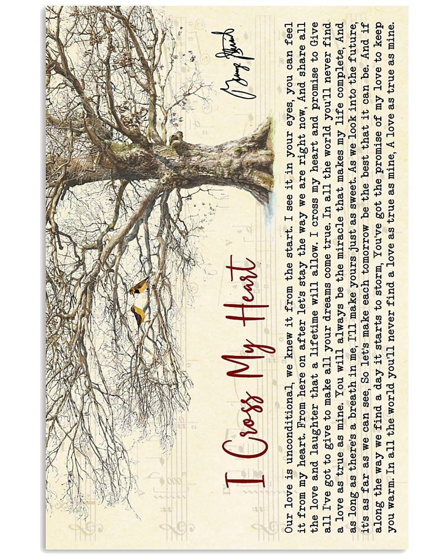 i cross my heart lyrics tree poster