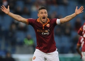 Francesco Totti by sbobet
