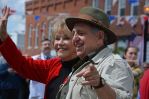 Maggie and Rodney at Mayberry in the Midwest last May.  They return to the festival this weekend!