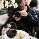 TWEETIN' SPEAKS LOUDER THAN WORDS-- A picture- perfect meal for Ron earlier this month in Paris.