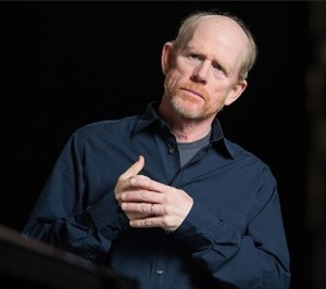 """OUR FAVORITE MARTIAN FAN--Ron Howard's """"Mars"""" series is one of several recent and upcoming projects in partnership with the National Geographic Channel."""