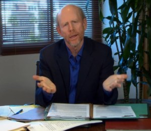 "LAWYERING UP--Channeling his inner Matlock, Ron Howard plays a lawyer in the ""Odd Couple"" tribute to Garry Marshall."