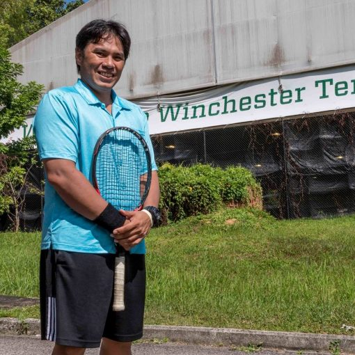 Coach Bo Alburo, Director of Tennis, TAG International Tennis Academy