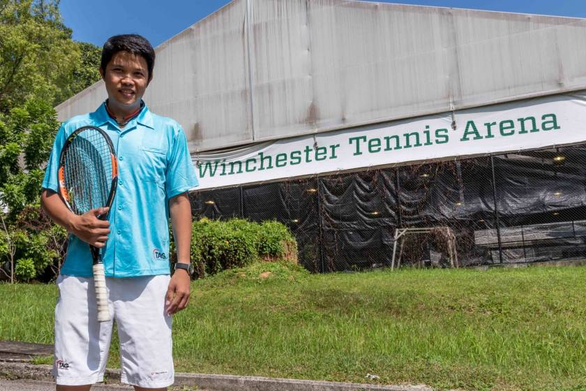Tennis Coach Jeremy