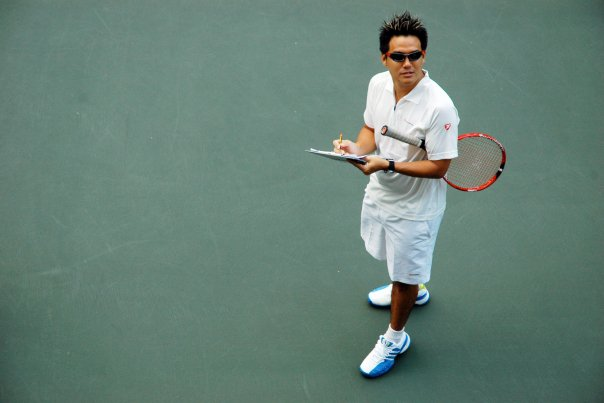 TAG International Tennis Academy Head Tennis Coach Tan Xu Teng