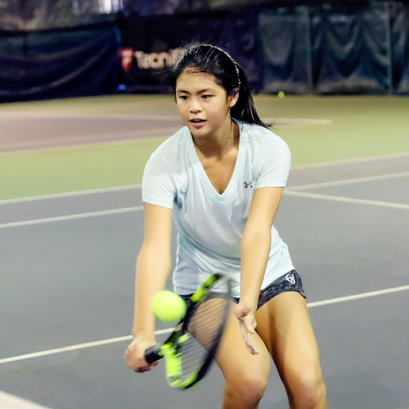 Coach XT student - Top Competitive Junior Tennis Player in Singapore Joelle Goh