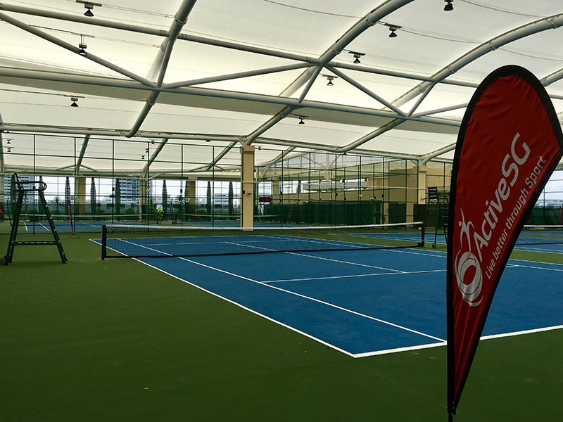 ActiveSG Bedok Tennis Centre at Heartbeat @ Bedok - Public Tennis Courts in Singapore