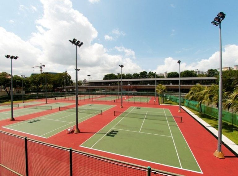 ActiveSG Yio Chu Kang Tennis Centre - 9 public tennis courts for your tennis game or your private tennis lessons in Singapore with TAG International Tennis Academy
