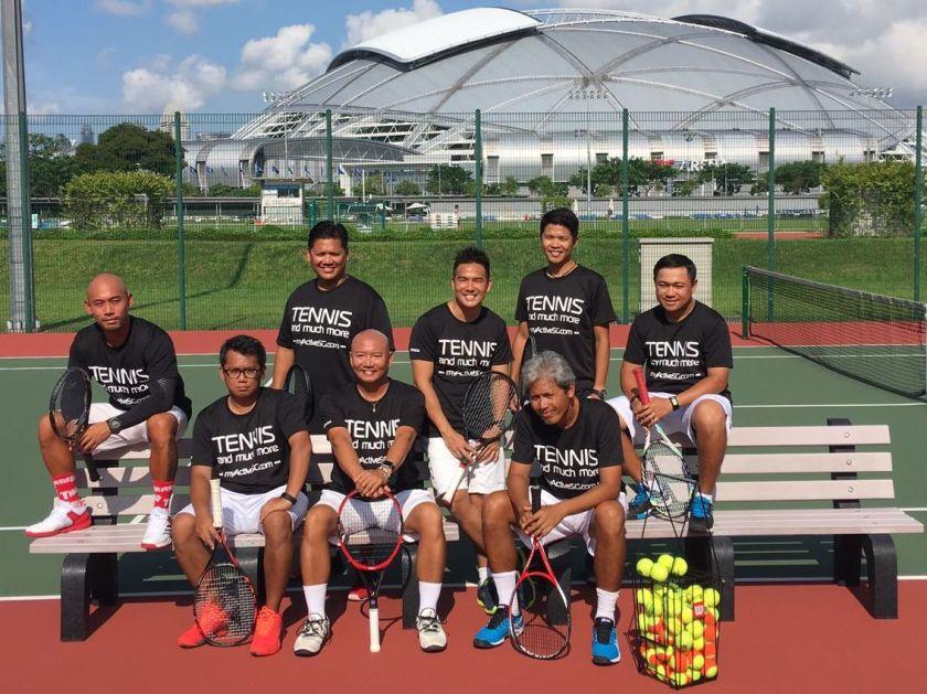 TAG Tennis Coach Tan Xu Teng, Coach XT, Coach X, Senior Coach of the ActiveSG Tennis Academy