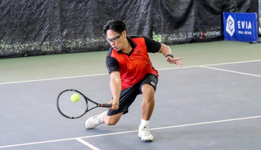 TAG Tennis Coach Bo Alburo ITF Men's 35+ World #2