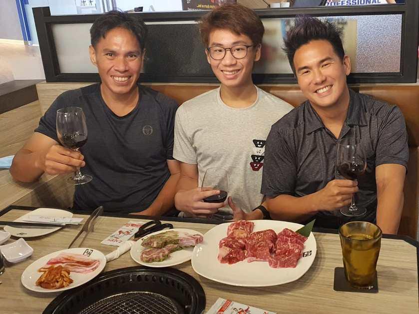 TAG Tennis Coaches with Top Junior Tennis Aaron Chiu