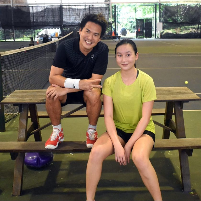 Top Competitive Junior Tennis Player Kyra Yip