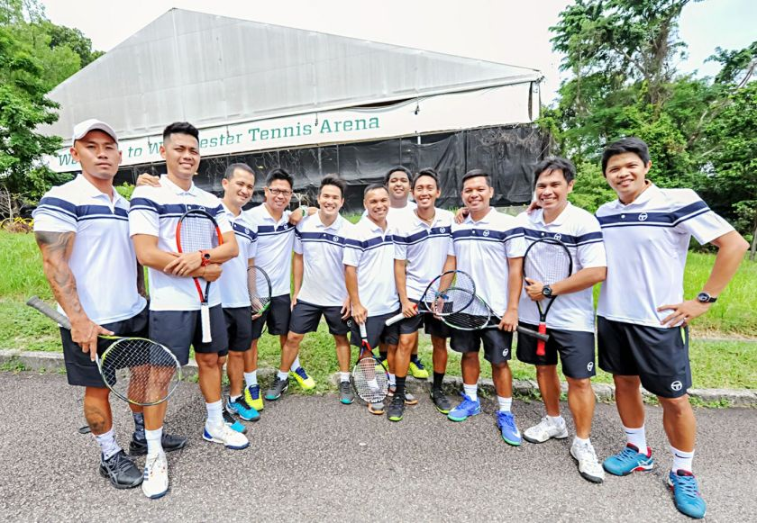 TAG International Tennis Academy @ Winchester Tennis Arena, Singapore's first public indoor tennis court for tennis matches and tennis lessons in Singapore