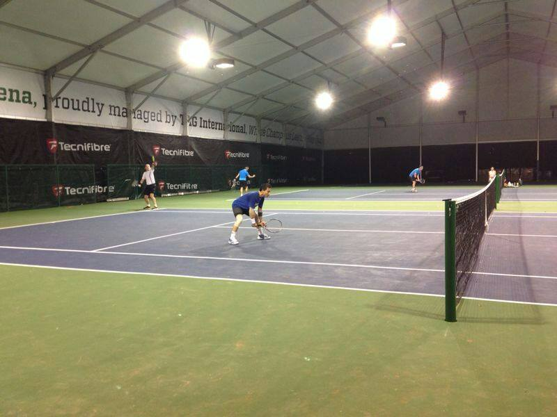 Winchester Tennis Arena, Singapore's best indoor public tennis courts
