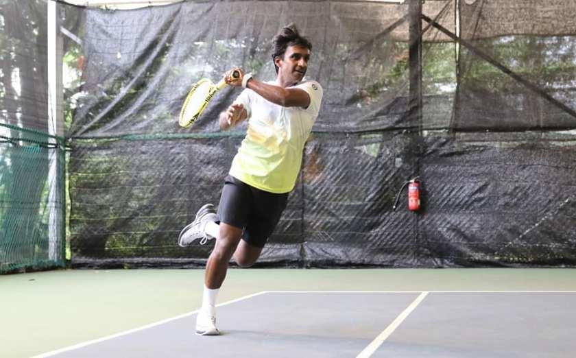 TAG International Tennis Academy's Coach Parekh Pratim