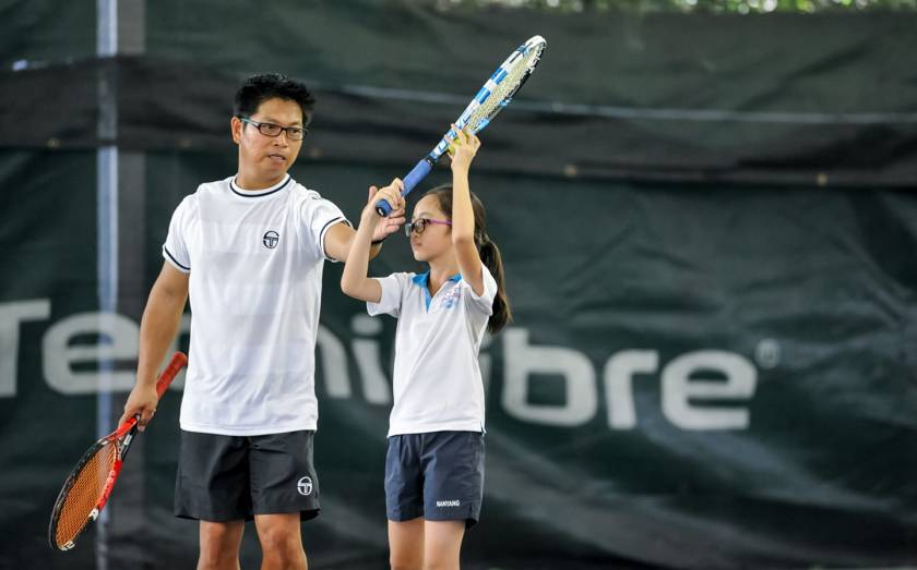 TAG Tennis Master Coach Rocky Paglalunan