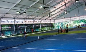 Winchester Tennis Arena - Shelter Indoor Tennis Court managed by TAG International Tennis Academy