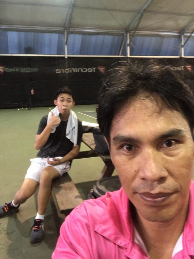 Coach Bo Alburo Lourelu Adlawan Mari coaching Ian Lai
