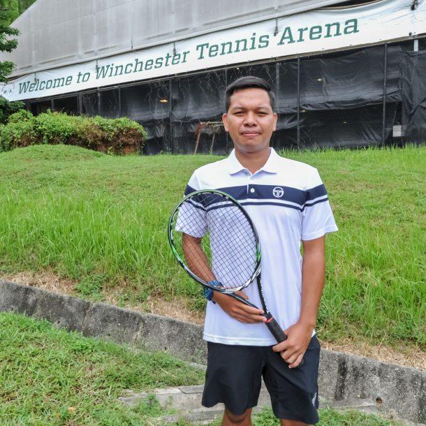 TAG International Top Singapore Tennis Coach Dave Regencia