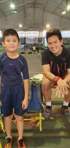 Chong Xin Yi - Tennis Junior of Coach xt