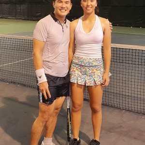 Claire Chan - Coach XT tennis student