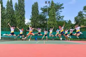 Head Coach Xt of Nanyang Girls High School upsets mighty Raffles Girls' School